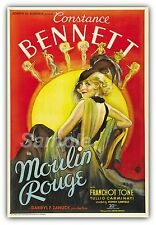 MR02 VINTAGE MOULIN ROUGE MOVIE POSTER A4 PRINT
