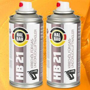 Kriechöl Schmiermittel Korrosionsschutz für Druckluftnagler Gasnagler 2 Stk HB21