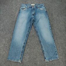 Arizona Jeans 20 Husky W33 Boys Size Blue Denim Straight Leg Regular Fit Cotton