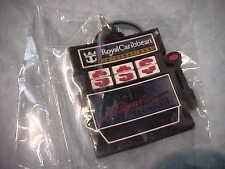 "Royal Caribbean Slot Machine shaped key chain marked ""Club Royale Casino VIP"""
