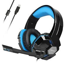 7.1 Surround Sound Gaming Headphones Headset w/ Microphone for PC Laptop