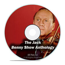JACK BENNY SHOW, 869 Classic Comedy Episodes, Old Time Radio, OTR, MP3 DVD F72