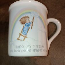 Vintage Hallmark Betsey Clark Coffee Cup Mug Special Friend Rainbow Japan 1969