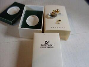 Swarovski Crystal Memories Classics Mini Perfume Bottle with Box