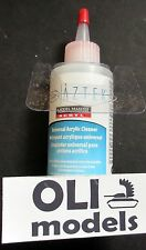 Universal Acrylic Aztek Airbrush CLEANER 4oz./118ml Testors Model Master 202788