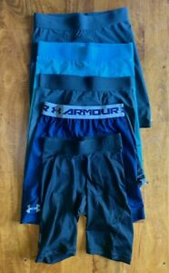 FIVE (5) pairs men's rare compression shorts $180 | nike under armour | medium