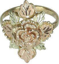 Absolutely Gorgeous Rosebud Black Hills Gold 10k Ring