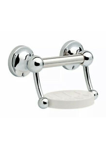 Delta DF701PC Soap Dish With Assist Bar, Stainless Steel, Polished Chrome