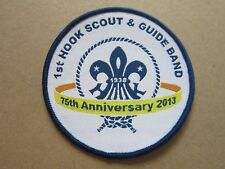 Hook Scout & Guide Band Cloth Patch Badge Boy Scouts Scouting L5K G