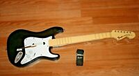 PS3 HARMONIX Fender Stratocaster Guitar Hero Rock Band Wireless 822151 NO DONGLE