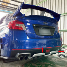 Painted Color For Subaru WRX STI 4DR 15-19 H Look Rear Diffuser Bumper Spoiler