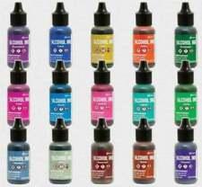 Lot of Tim Holtz Ranger ALCOHOL INK 15 Colors 2020 Newest RELEASE (#2020-51i)