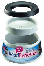 Prestige Road Refresher Non Spill Pet Water Bowl L Grey