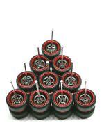 ( PROMO ) Hot Wheels 4 Spoke (Black Redline ) Quality Rubber Tire - 5 sets