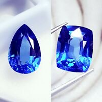 Loose Gemstone 8.00 to 10.00 Cts Natural Certified Blue Sapphire Pairs