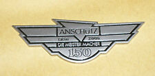 Original Anschutz plate - 150 years,metal