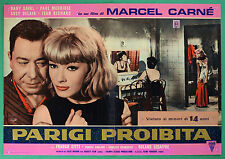 T48 FOTOBUSTA PARIGI PROHIBIDO MARCEL CARNE' DANY SAVAL PAUL MAURISSE DELAIR 3