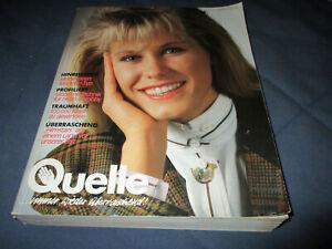Quelle Katalog Versandhauskatalog Herbst Winter 89/90 1989 1990 komplett