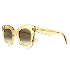 98a350538c07 Celine Sunglasses 41393 S Baby Marta HAM X9 Clear Champagne Brown Gradient
