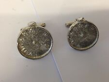 Old Pocket Watch TG379 Cufflinks Made From English Modern Pewter