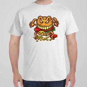 Funny cool T-shirt - CRAZY BURGER McDonalds