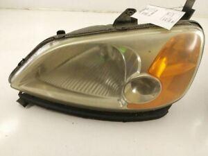 Driver Left Headlight Halogen Fits 05-08 AUDI A6 203984