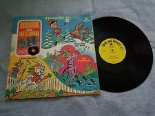 Pied Piper / Peter Rabbit / Peter & The Wolf Book & Record-Vinyl LP Record Album