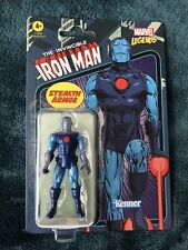Marvel Legends Kenner Retro Stealth Armor Iron Man 3.75? NEW SEALED W4 in Hand