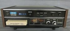 Akai Cr-81D 8 Track Stereo Player Recorder Working
