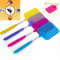 Extendable Telescopic Mosquito Fly Swatter Plastic Prevent Catcher Bug Pest Tool