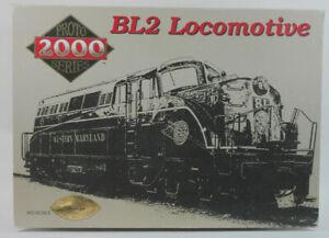 Life Like Proto 2000 #8692 Chesapeake & Ohio BL-2 Loco HO Scale DC - New Gears