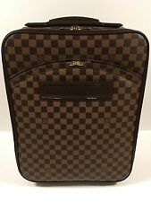 Louis Vuitton Travel Carry On Pegase 45 Damier Ebene 100% Authentic