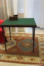 ANTICO TAVOLO DA GIOCO PIEGHEVOLE cm 76X76 TAVOLINO PRIMI 900 VINTAGE CARD TABLE
