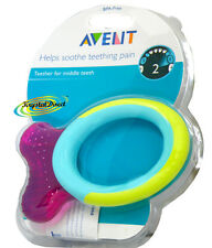 Philips Avent SCF892/01 Animal Shaped Middle Teeth Teether BPA Free Stage 2