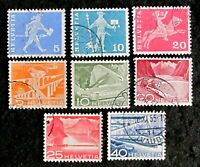 HELVETIA  SERIE OF STAMPS USED HINGED.  (PH1)