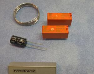 Buderus Modul M004 v2.0 Reparaturset / Reparatursatz - Neuteile - Schrack Relais