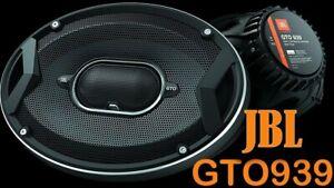 "JBL GTO939 GTO Series 6x9"" 3 Way Coaxial Car Audio Speakers ( 1 PAIR )"