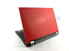 "Windows 7 RED Dell Latitude 14""  Laptop - Core 2 Duo 2GB RAM WiFi DVD Warranty"