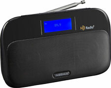 Insignia NS-HDRAD2 Tabletop HD Radio Black HD2 & HD3 Channel Support