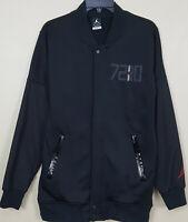 NIKE AIR JORDAN XI RETRO 11 72-10 JACKET BLACK RED RARE 777497-010 (SIZE SMALL)