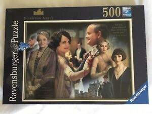 Ravensburger - 500 PIECE JIGSAW PUZZLE - Downton Abbey. Brand New/wrapped.