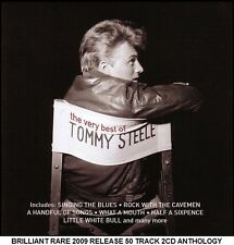 Tommy Steele - Very Best 50 Greatest Hits Collection RARE 2CD 50's 60's Musicals