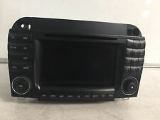 COMMAND UNIT CD RADIO NAVIGATION DVD GPS OEM MERCEDES W220 S430 S500 2003 - 2004