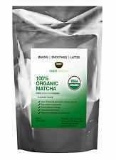 Finest Matcha Green Tea Powder - Organic Japanese Culinary Matcha - Non GMO,100g