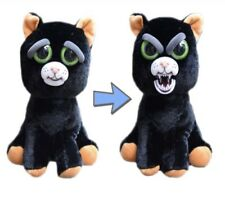 Fiesty Black & Orange Halloween Cat