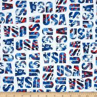Wyndham Fabrics Whistler Studios USA World 100% cotton fabric by the yard