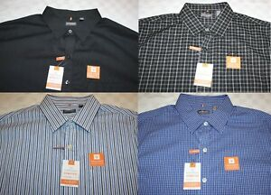 Van Heusen Big & Tall LS Traveler No Iron Men's Shirt NWT, Assrtd sizes/colors