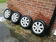 "Genuine Audi A1 15"" Alloy Wheels And Tyres Set Seat Skoda vw Volkswagen polo"