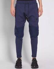 Nike Tech Fleece Panel Track Joggers (Blue) - Small - New ~ 805658 451