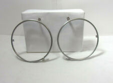 1966 LINCOLN CONTINENTAL LEFT AND RIGHT HEADLIGHT CHROME TRIM